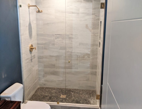 Shower Glass Renovation