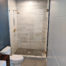 Custom shower stall